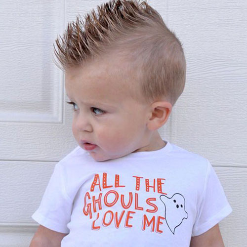 Rockn Styles baby first haircut-